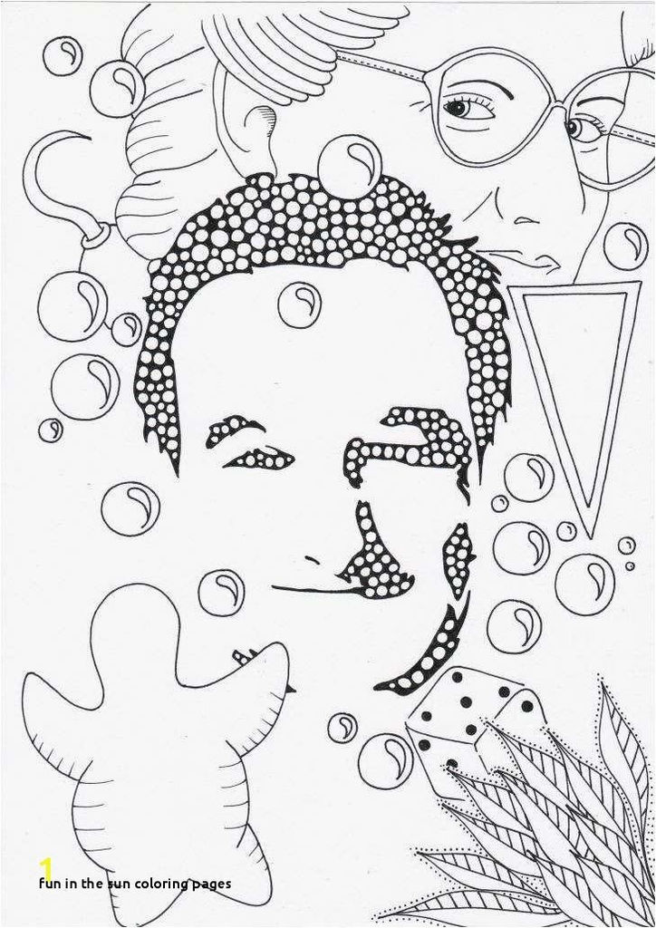 Lovely Sun Stars and Moon Coloring Pages – C trade
