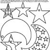 Star Coloring Page Wonderful New Moon Coloring Page Fvgiment