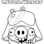 Star Wars Characters Coloring Pages Inspiring Angry Birds Star Wars Coloring Coloring Home