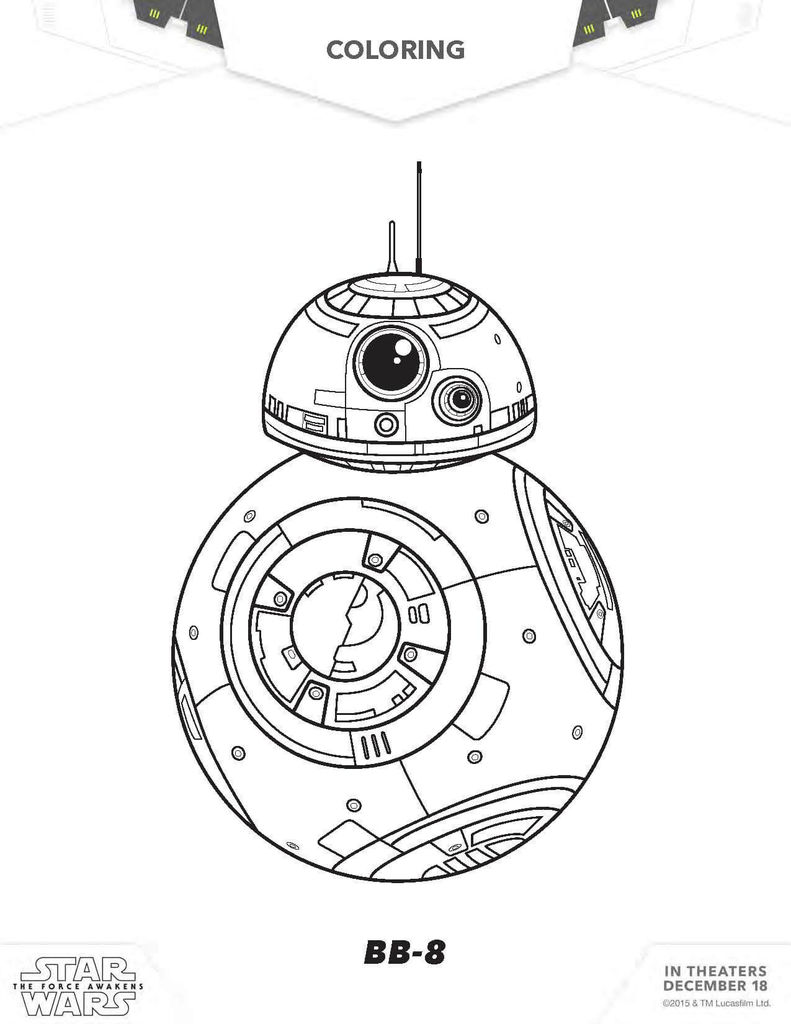 Star Wars Coloring Posters Unique Star Wars Coloring Pages the force Awakens Coloring Pages