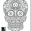 Sugar Skull Color Amazing Lovely Cool Drawings Dragons and Skulls