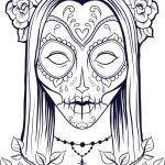 Sugar Skull Coloring Inspirational New Girl Skull Coloring Pages – thebookisonthetable