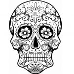 Sugar Skull Coloring Page Best Of Fresh Simple Adult Coloring Pages Fvgiment