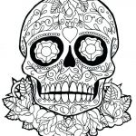 Sugar Skull Coloring Page Fresh Luxury Day Dead Skull Coloring Pages – Kursknews