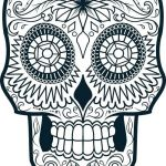 Sugar Skull Coloring Page Fresh Pattern Colouring Pages to Print at Getdrawings
