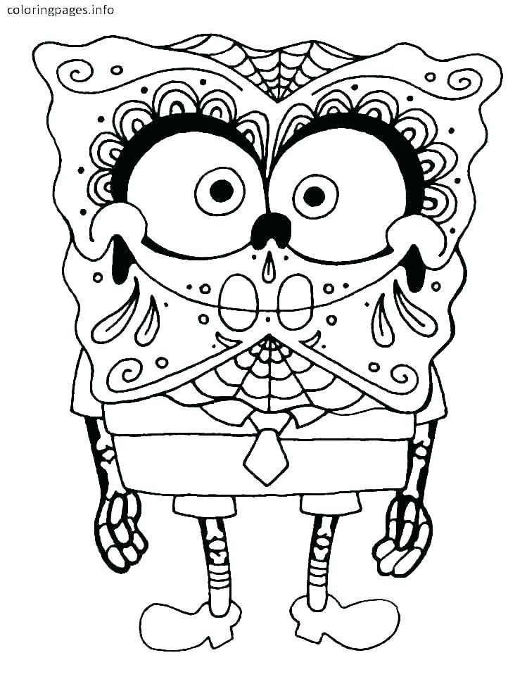 Sugar Skull Coloring Page Fresh Sugar Skull Colouring Pages – 488websitedesign