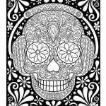 Sugar Skull Coloring Page Inspirational Fresh Colored Sugar Skull Coloring Pages – Doiteasy