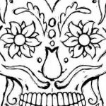 Sugar Skull Coloring Page New √ Sugar Skull Coloring Pages or Sugar Skulls Coloring Page Best
