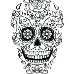 Sugar Skull Coloring Page New Coloring Pages Sugar Skull Coloring Page Printable Free Pages Day