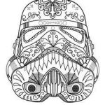 Sugar Skull Coloring Page New Dark Vader Sugar Skull Coloring Page Az Coloring Pages