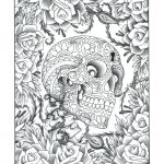 Sugar Skull Coloring Page New Sugar Skull Coloring Pages Download Colouring Sugar Skull