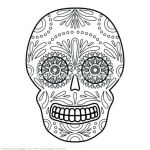 Sugar Skull Coloring Page New Sugar Skull Coloring Sheets
