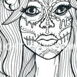 Sugar Skull Coloring Page Unique Beautiful Skull Candy Coloring Pages Nocn
