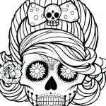 Sugar Skull Coloring Page Unique Flames Coloring Pages – Contentpark