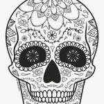 Sugar Skull Coloring Page Unique Luxury Day Dead Skull Coloring Pages – Kursknews