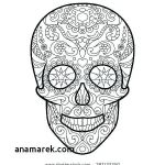 Sugar Skull Coloring Page Unique Sugar Skull Color Pages – Chromadolls