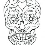 Sugar Skull Coloring Page Unique Sugar Skull Simple – topolcanykings
