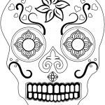 Sugar Skull Coloring Pages Amazing Coloring Page Free Printable Sugar Skull Coloring Pages Page