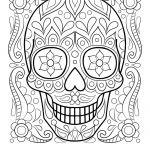 Sugar Skull Coloring Pages Awesome Sugar Skull Coloring Pages