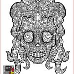Sugar Skull Coloring Pages Beautiful Showcase Plicated Coloring Pages for Adults Stock Coloring