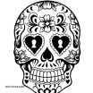Sugar Skull Coloring Pages Best Lovely Sugar Candy Skulls Coloring Pages – Doiteasy