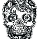 Sugar Skull Coloring Pages Best Sugar Skull Coloring Pages Art is Fun Another Idea is to Print the