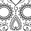 Sugar Skull Coloring Pages Brilliant Coco Coloring Pages Free Unique Dia De Los Muertos Coloring Sheets
