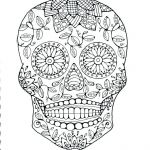 Sugar Skull Coloring Pages Creative Sugar Skull Colouring Pages – 488websitedesign