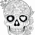 Sugar Skull Coloring Pages Elegant Skull Coloring Pages for Adults Unique Coloring Simple the Best Free