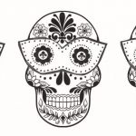 Sugar Skull Coloring Pages for Adults Awesome Coloring Page Incredible Sugar Skull Coloringges Cool Collection