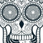 Sugar Skull Coloring Pages for Adults Brilliant Pattern Colouring Pages to Print at Getdrawings