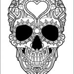 Sugar Skull Coloring Pages for Adults Creative Coloring astonishing Best Adult Coloring Pages Picture Ideas Skull
