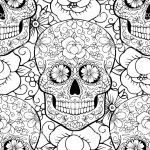 Sugar Skull Coloring Pages for Adults Elegant Coloring Page Incredible Sugar Skull Coloringges Cool Collection