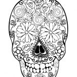 Sugar Skull Coloring Pages for Adults Inspiration Coloring Phenomenal Skull Coloring Pages for Adults Sugar Indian