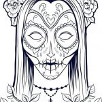 Sugar Skull Coloring Pages for Adults Inspiration Sugar Skull Colouring Pages – 488websitedesign