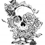 Sugar Skull Coloring Pages for Adults Inspired Beautiful Skull Candy Coloring Pages Nocn