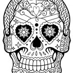 Sugar Skull Coloring Pages for Adults Inspired Coloring Ideas 60 Fantastic Sugar Skull Coloring Pages for Kids