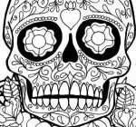 Sugar Skull Coloring Pages for Adults Inspired Skull Coloring Pages for Adults Inspirational Sugar Skulls Coloring