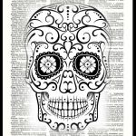Sugar Skull Coloring Pages for Adults Pretty Coloring Arts 47 Sugar Skull Coloring Book Picture Ideas Sugar