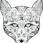 Sugar Skull Coloring Pages Inspirational Flames Coloring Pages Free – Ofgodanddice