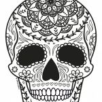 Sugar Skull Coloring Pages Inspired Coloring Ideas 60 Fantastic Sugar Skull Coloring Pages for Kids