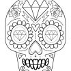 Sugar Skull Coloring Pages Pdf Free Download Beautiful Coloring Page Coloring Page Sugar Skulls Pages Free Fantastic