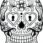 Sugar Skull Coloring Pages Pdf Free Download Brilliant Sugar Skull Coloring Pages Art is Fun Another Idea is to Print the
