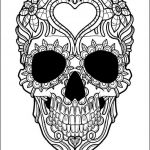 Sugar Skull Coloring Pages Pdf Free Download Creative Coloring Coloring Tremendous Skullook Ideas Free Pages Long