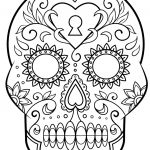 Sugar Skull Coloring Pages Pdf Free Download Elegant Coloring Book World Coloring Book World Sugar Skull Excelent