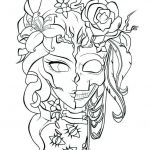 Sugar Skull Coloring Pages Pdf Free Download Excellent 60 Sugar Skull Free Coloring Pages La Union