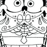 Sugar Skull Coloring Pages Pdf Free Download Excellent Free Printable Day the Dead Coloring Pages Awesome Day the Dead