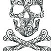 Sugar Skull Coloring Pages Pdf Free Download Exclusive Sugar Skull Coloring – Etcontact