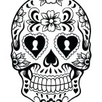 Sugar Skull Coloring Pages Pdf Free Download Inspiration Skull Color Pages – Zupa Miljevci