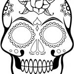 Sugar Skull Coloring Pages Pdf Free Download Pretty Coloring Page Free Sugar Skullloring Pages Pdf Printable for